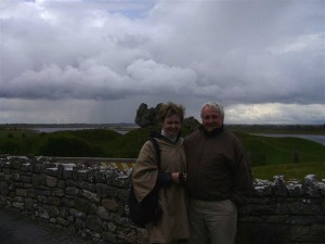 Pat & Bobby in Dark and Stormy Ireland
